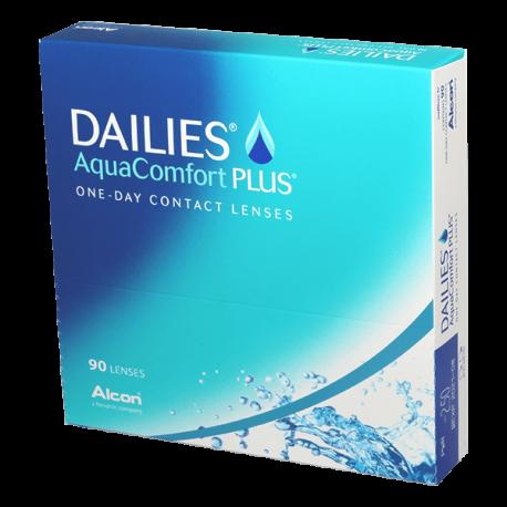 Dailies Aqua Comfort Plus - 90 Contact lenses