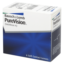 Purevision Spheric - 6 contact lenses