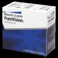 Purevision Spheric - 6 lentilles