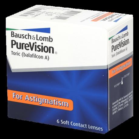 Purevision Toric o Purevision For Astigmatism - 6 lenti a contatto