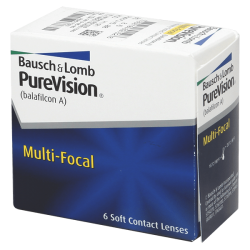Purevision Multi-Focal - 6 contact lenses