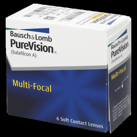 Purevision Multi-Focal - 6 lenti a contatto