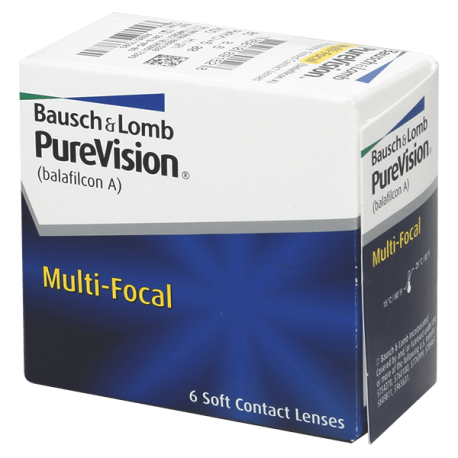 Purevision Multi-Focal - 6 lentilles