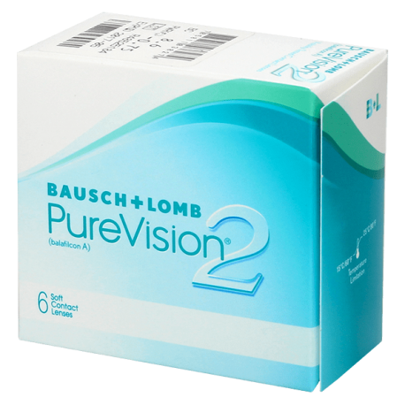 Purevision 2 HD - 6 contact lenses