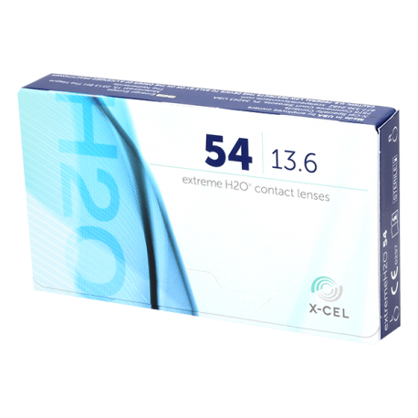 Extreme H20 54% - 6 contact lenses