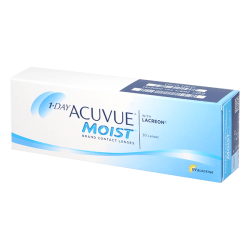 1-Day Acuvue Moist - 30 Contact lenses