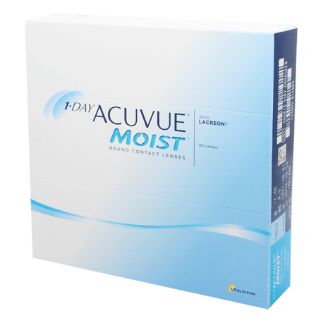 1-Day Acuvue Moist - 90 contact lenses