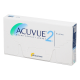 Acuvue 2 - 6 contact lenses