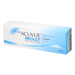 1-Day Acuvue Moist for Astigmatism - 30 lentilles