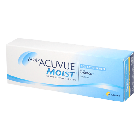 1-Day Acuvue Moist for Astigmatism - 30 Kontaktlinsen