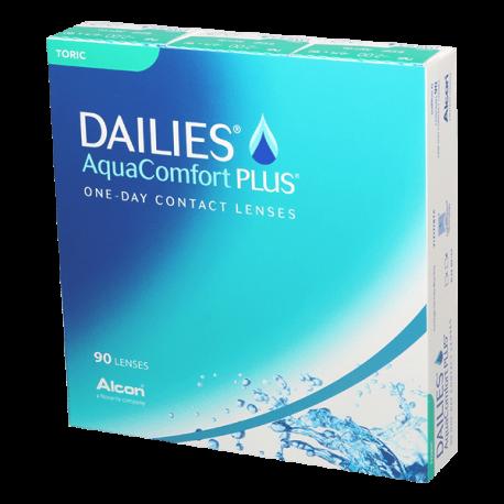Dailies Aqua Comfort Plus Toric  - 90 Kontaktlinsen