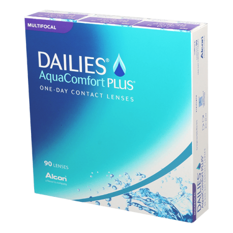 Dailies Aqua Comfort Plus Multifocal - 90 lentilles