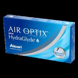 Air Optix Plus Hydraglyde - 6 lentilles