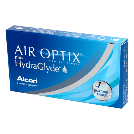 Air Optix Plus Hydraglyde - 6 contact lenses