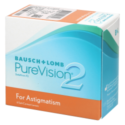 Purevision 2 HD For Astigmatism - 6 contact lenses