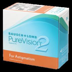 Purevision 2 HD For Astigmatism - 6 lentilles