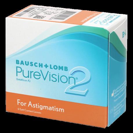 Purevision 2 HD For Astigmatism - 6 lenti a contatto