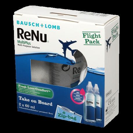 ReNu MultiPlus Flight Pack 2 x 60ml