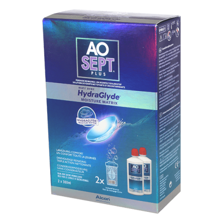 AO Sept Plus Hydraglyde - 2 x 360ml