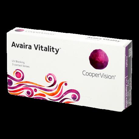 Avaira Vitality - 3 contact lenses