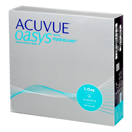 1-Day Acuvue Oasys - 90 lentilles