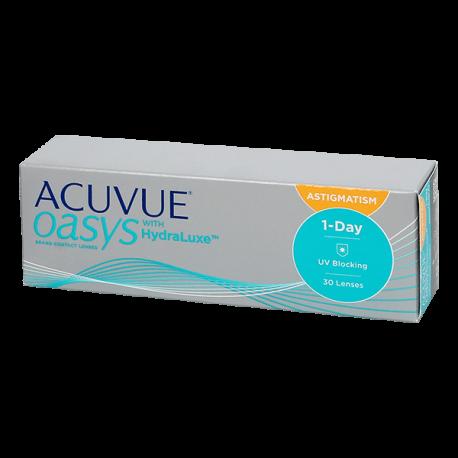 1-Day Acuvue Oasys HydraLuxe for Astigmatism - 30 Kontaktlinsen