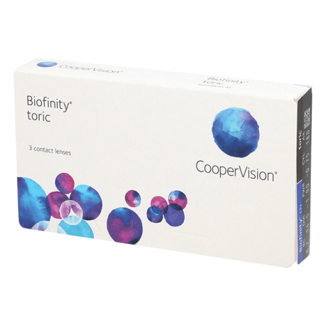 Biofinity Toric - 3 lenti a contatto