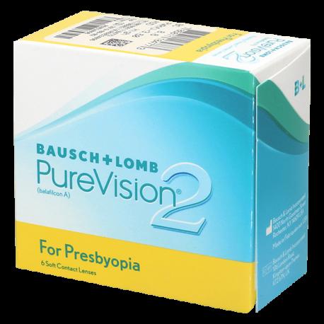 Purevision 2 For Presbyopia - 6 lentilles