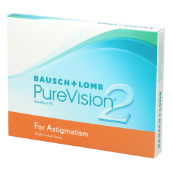 Purevision 2 HD For Astigmatism - 3 lentilles