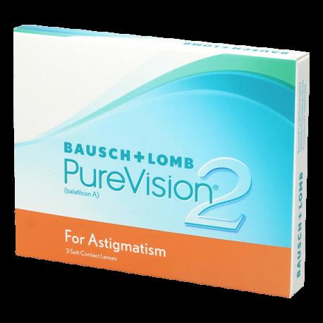 Purevision 2 HD For Astigmatism - 3 Kontaktlinsen