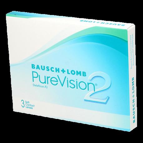 Purevision 2 HD - 3 Kontaktlinsen