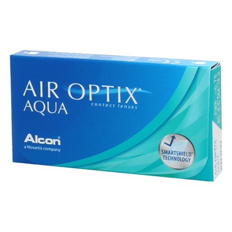 Air Optix Aqua - 6 contact lenses