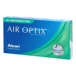 Air Optix for Astigmatism - 6 contact lenses
