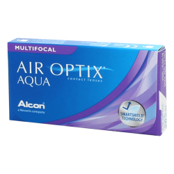 Air Optix Aqua Multifocal - 6 contact lenses