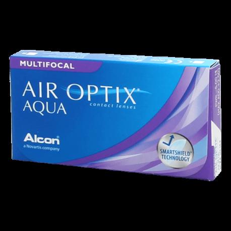 Air Optix Aqua Multifocal - 6 contact lenses