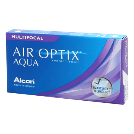 Air Optix Aqua Multifocal - 3 lenti a contatto
