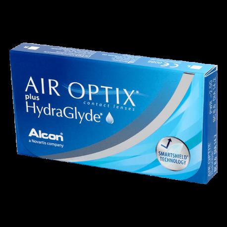 Air Optix Plus Hydraglyde - 6 contact lenses