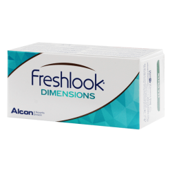 FreshLook Dimensions - 2 contact lenses
