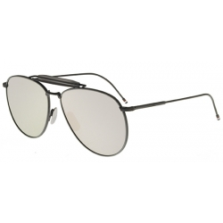 Thom Browne Tb-015-Ltd Black Grey Blk-Gry