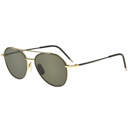 Thom Browne Tb-105 Black Gold A-Blk-Gld