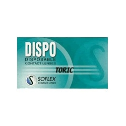 Dispo Toric - 6 contact lenses